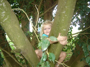 The gardens at Speke had some awesome climbing trees. Our little Eliza sloth was in heaven
