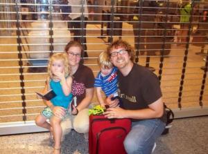 Tim, Sarah, Eliza and Jude: Uganda Bound!